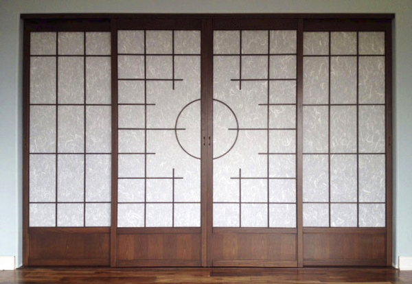 Custom design closet shoji screen doors. : door japanese - pezcame.com