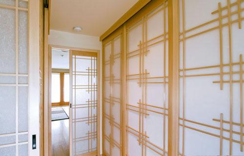 6' Bamboo Frame Shoji Screen