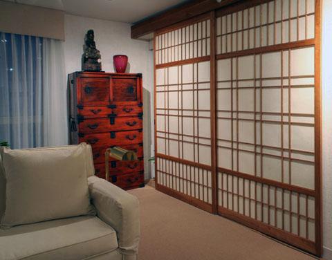Custom japanese shoji screens shoji designs inc - Puertas shoji ...