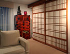 Shoji doors for an extensive condominium remodel
